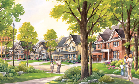Village at Highland Creek rendering